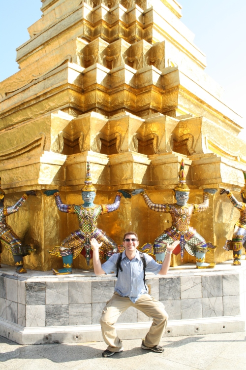 Jon the Buddha, Great Palace, Bangkok